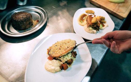 Restaurante Nola variedad de platos